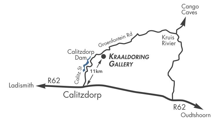 Kraaldoring Map