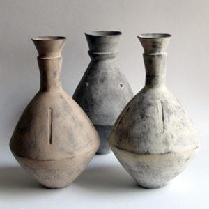 Clementina's Zigzag Vases