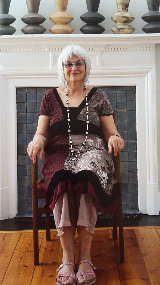 Portrait of Clementina van der Walt featured in ELbe Coetsee's latest book, Craft Art in South Africa - Creative Intersections