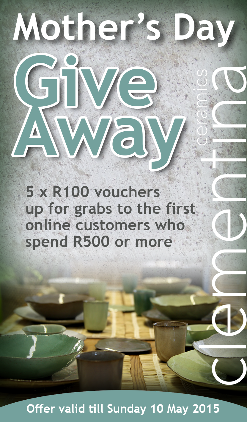 Clementina's Mother's Day Voucher Coupon expires on 10 May 2015
