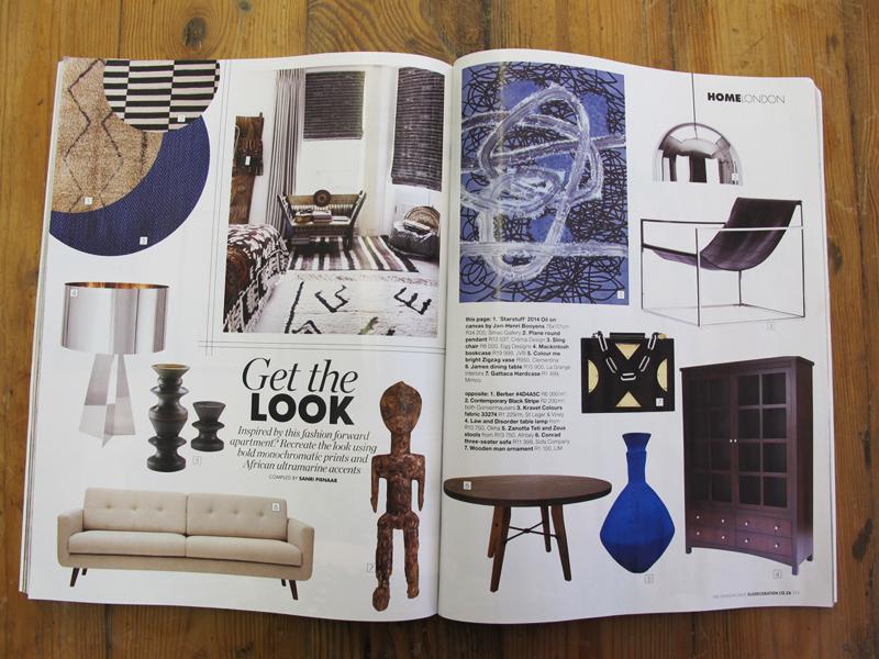 Elle Deco Magazine Zigzag vase AugSep 2015
