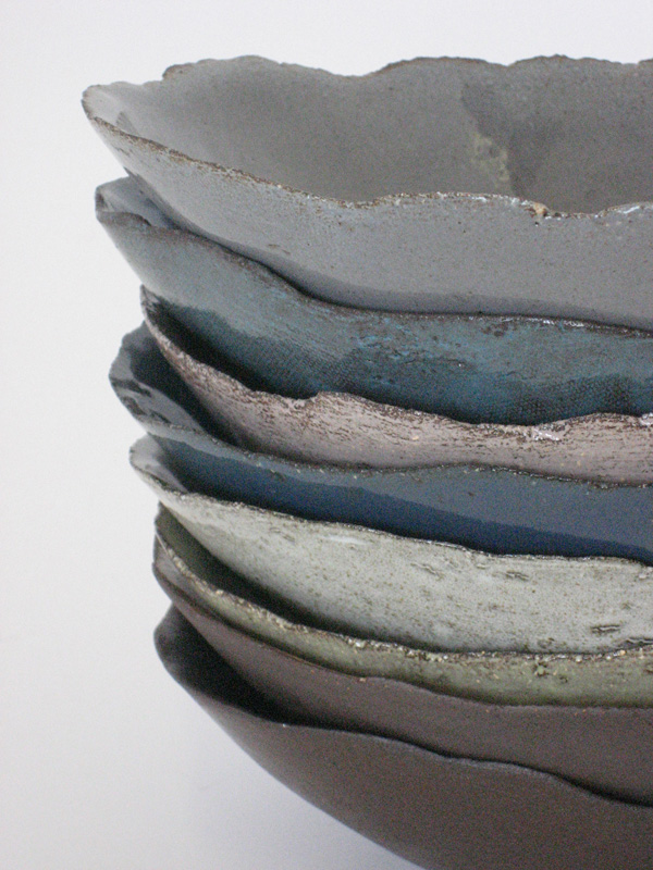 Stacked bowls from WABI SABI range