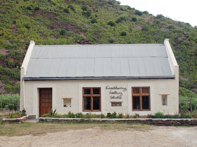 The Kraaldoring Gallery in Groefontein
