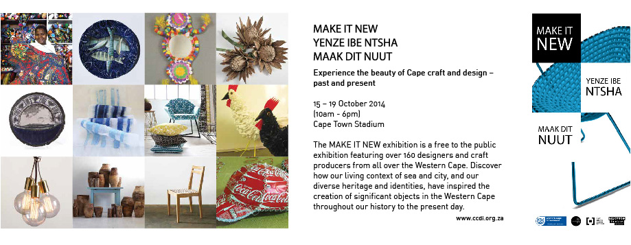 Make it New | Craft & Design Exhibition at Cape Town Stadium
