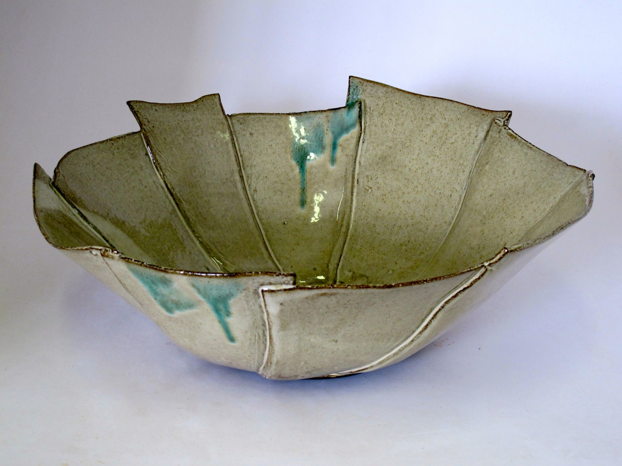 Large Bowl by Clementina van der Walt for Corobrick National