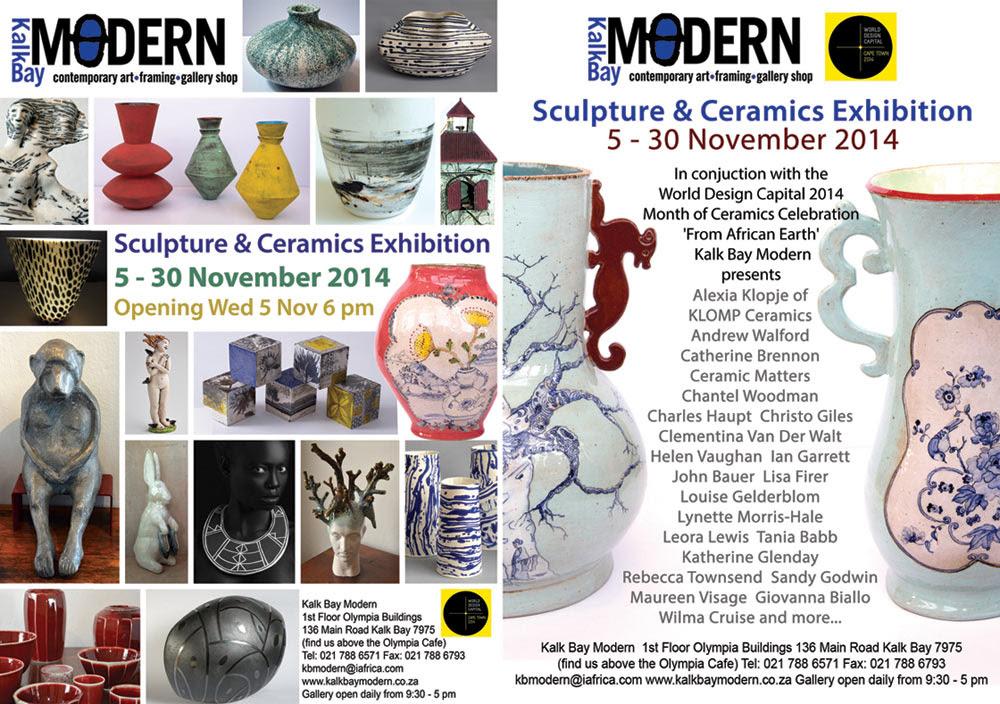 Sculpture & Ceramics Exhibition at Kalkbay Modern