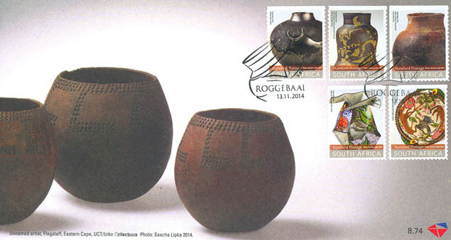 Ceramic vessels on Postage Stamps - Limited Edition | Clementina