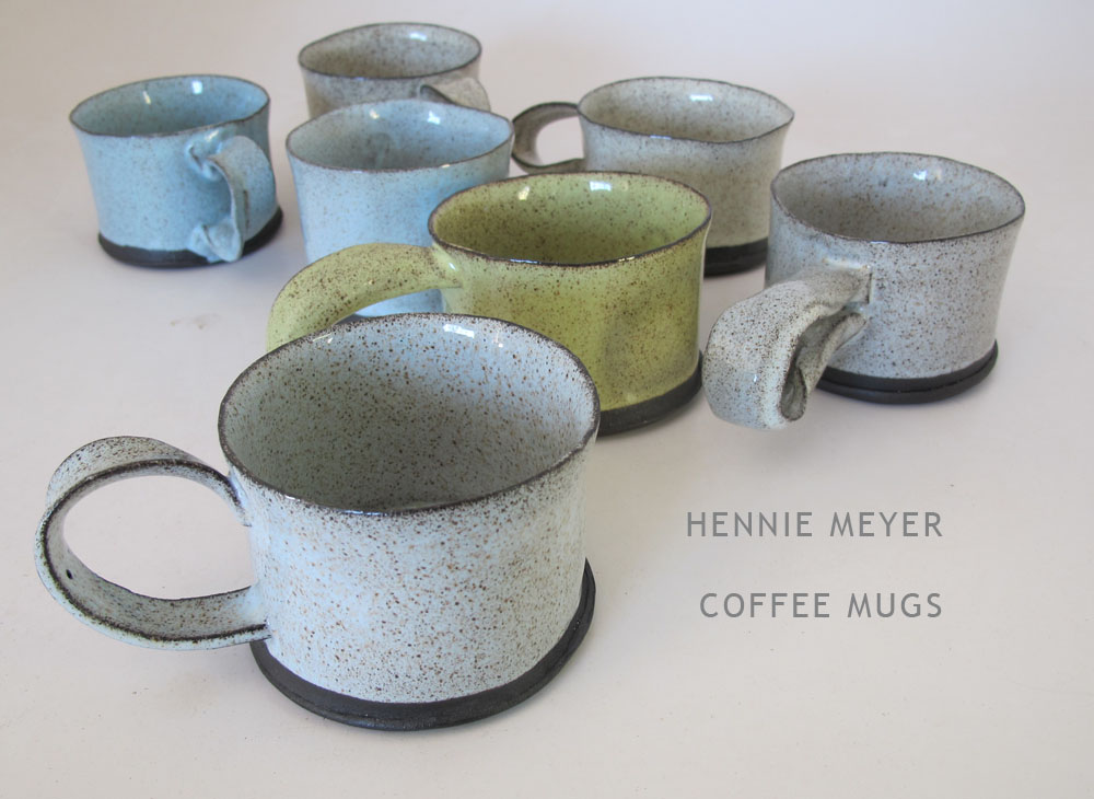 Hennie Meyer coffee mugs jan 2015