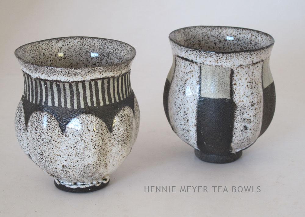 Hennie Meyer tea bowls jan 2015