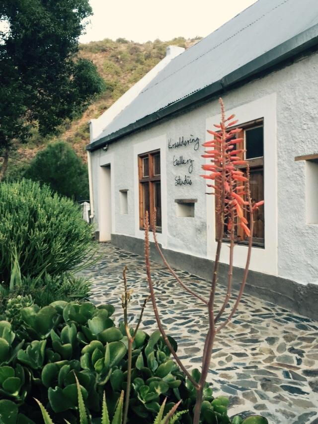 Visit Clementina at Kraaldoring Gallery | Groenfontein | Calitzdorp